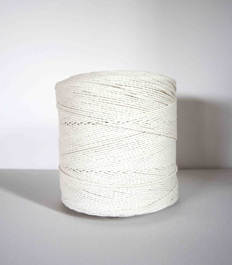 2 mm twisted cotton rope