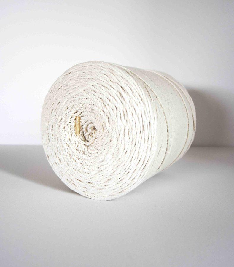 2 mm sukta medvilninė virvė