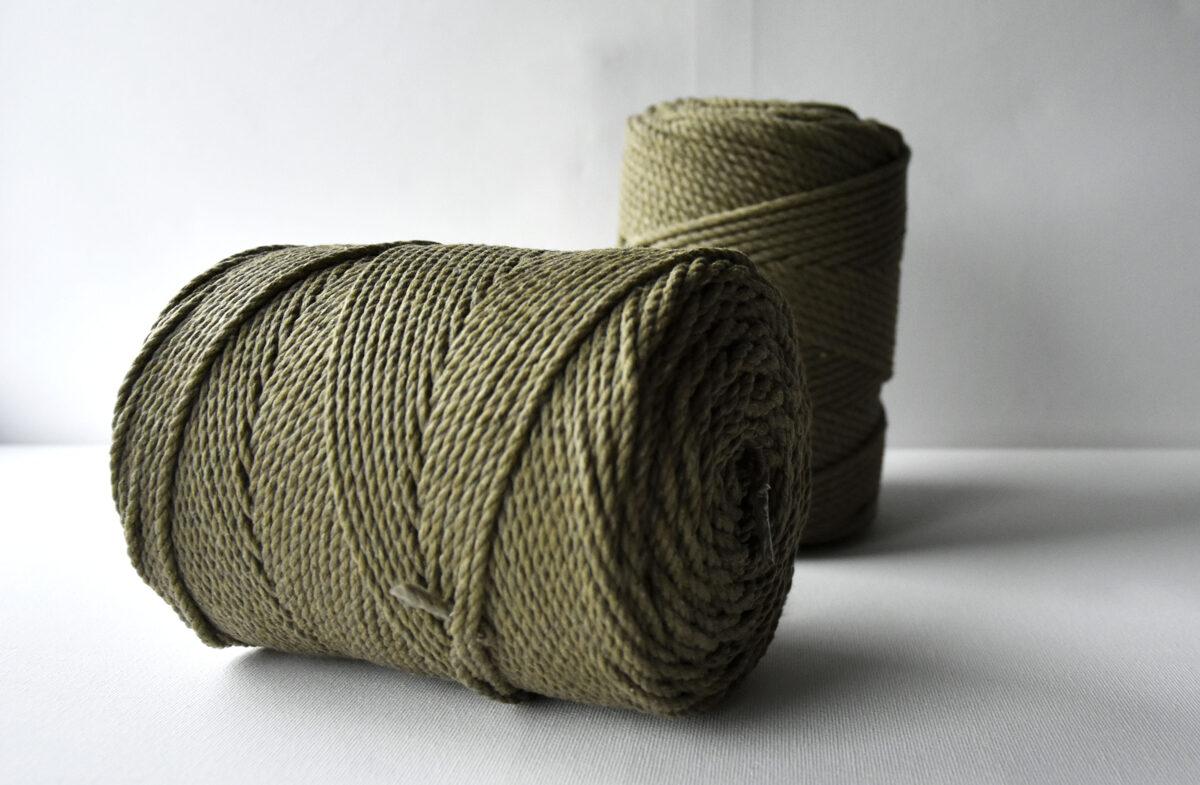 Sukta medvilninė virvė. Samanų