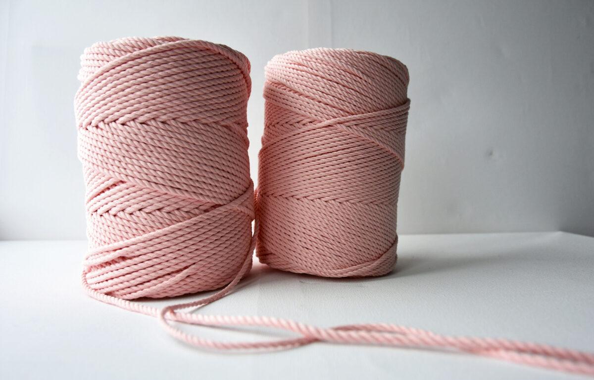 Sukta medvilninė virvė. Lašiša